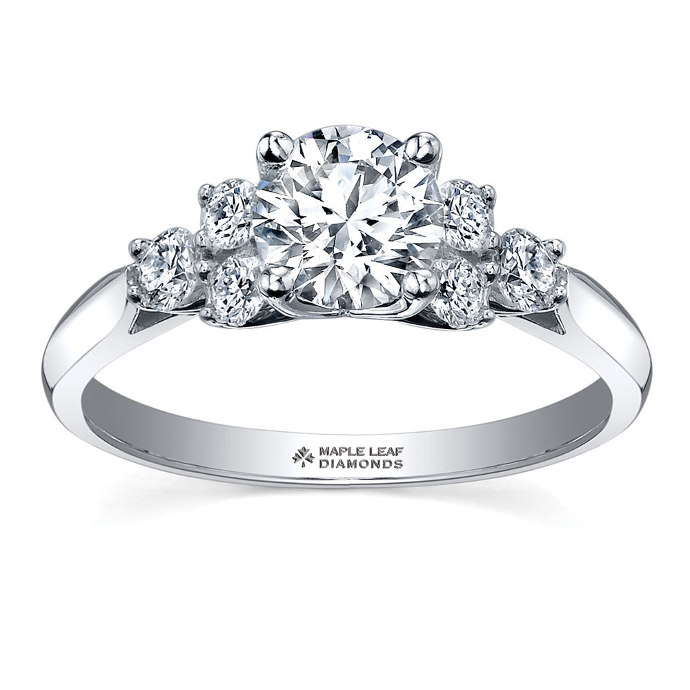 everlasting engagement rings the charity wedding the